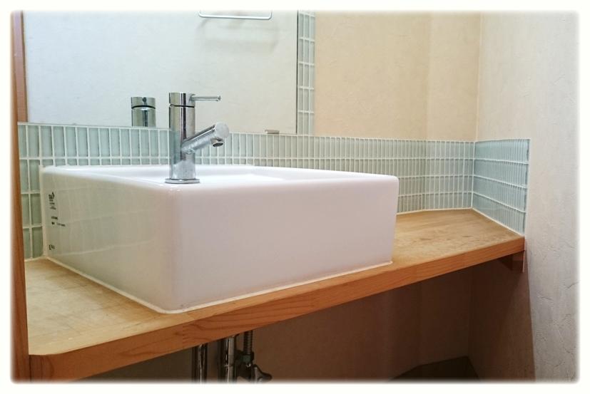 可愛いオリジナル洗面台